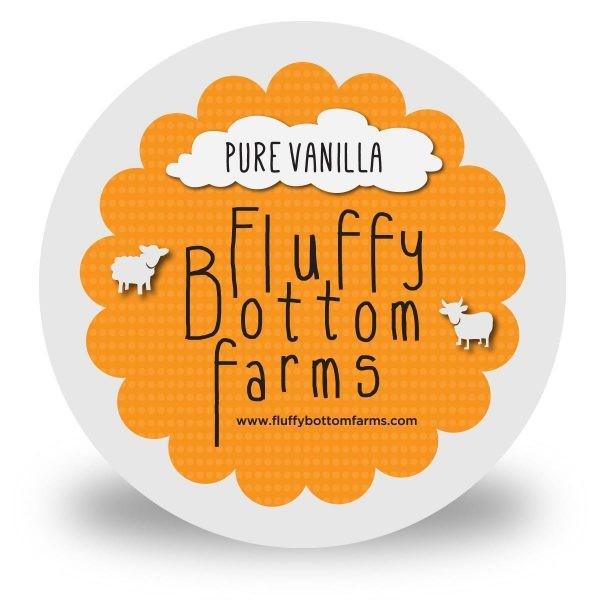 Fluffy Bottom Farms Yogurt Pure Vanilla
