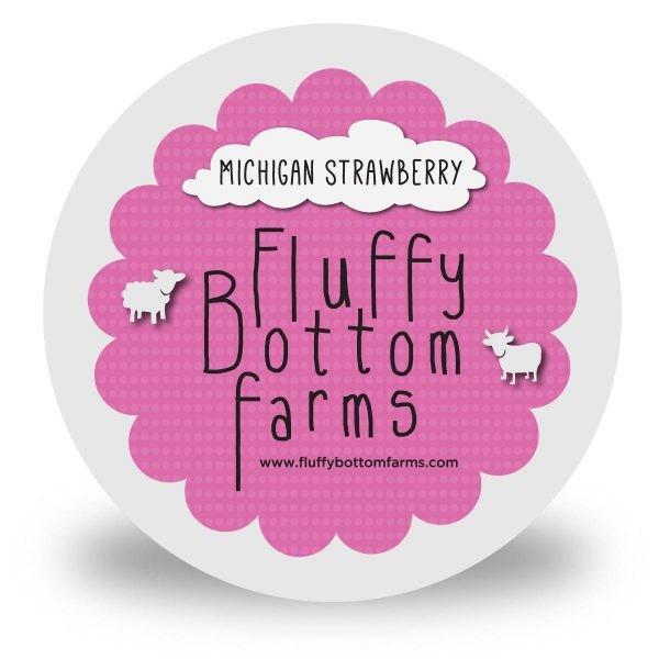 Fluffy Bottom Farms Yogurt Ripe Strawberry