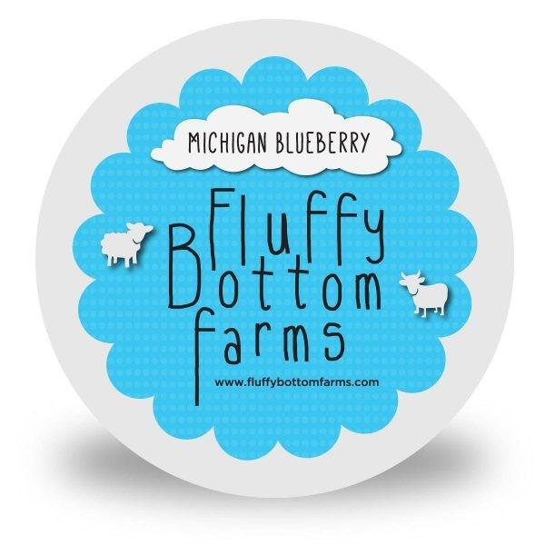 Fluffy Bottom Farms Yogurt Very Blueberry