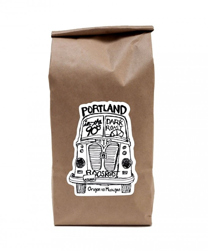 RoosRoast Portland in the 90s Coffee - 1/2 #