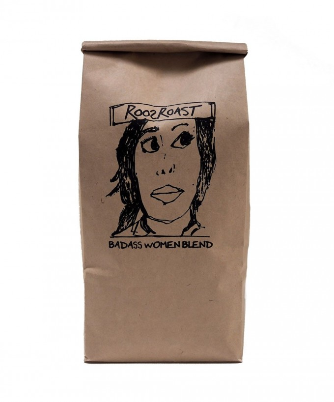 RoosRoast Bad Ass Woman Blend Coffee - 1/2 #