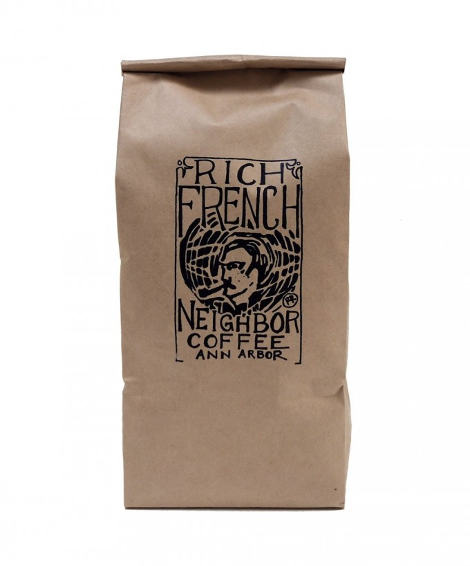 RoosRoast Rich French Neighbor Coffee - 1/2 #