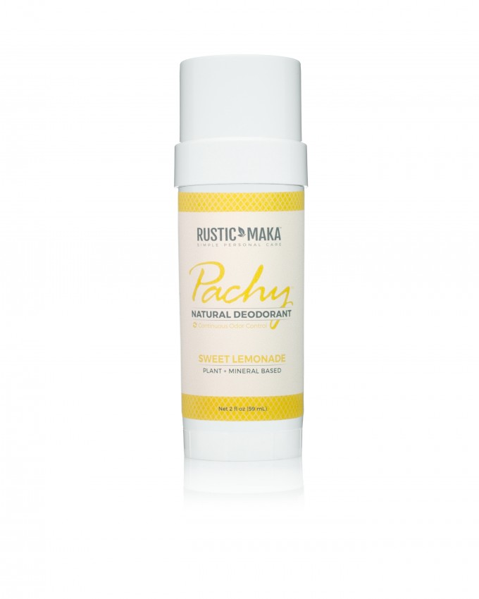 Rustic MAKA Pachy Natural Deodorant Sweet Lemonade - Full Size