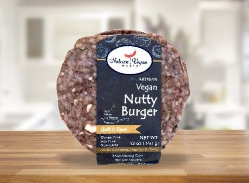 Nutcase Vegan Meats Nutty Burger + SALE: 20% OFF Till Sep 30th