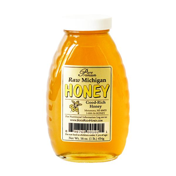 Good-Rich Honey - Raw Honey 1lb
