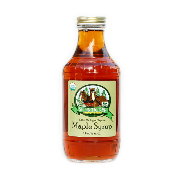 Schmuckers Organic Amber Maple Syrup Pint