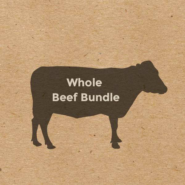 Egeler Grass-Fed Steer - Whole -- Sale Until 12/31