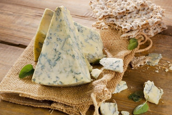 Oliver Farms Raw Milk Organic Cheese Blue 5# Block