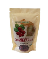 Cranberries, Dried Organic - Omena