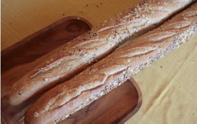 Avalon - Par-Baked Woodbridge Whole Wheat Baguette
