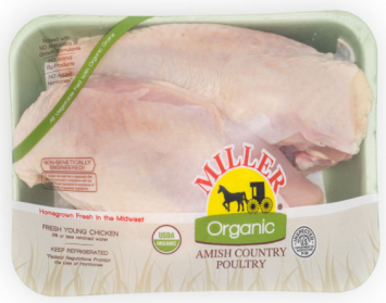 Miller Organic Chicken Split Breast