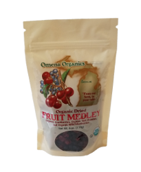 Omena Organics - Organic Dried  Fruit Medley - Delivered for Thanksgiving
