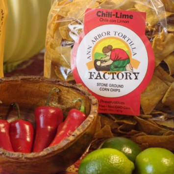 Ann Arbor Tortilla Factory - Chips, Chili Lime 8oz