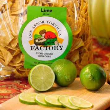 Ann Arbor Tortilla Factory  - Chips, Lime 32 oz