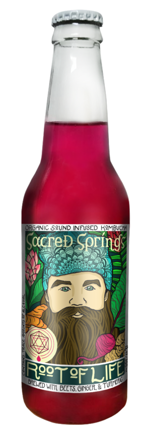 Sacred Springs Kombucha - Root of Life 4-Pack