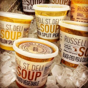 Russell Street Deli Soups - Black Eyed Peas & Collard Greens Soup