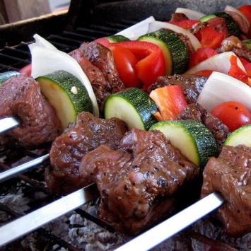 Organic Beef Kabob Cookout Kit ($10.63 / serving)