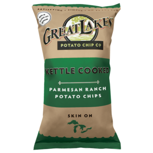 Great Lakes GMO-Free Potato Chips - Parmesan Ranch (16 oz)