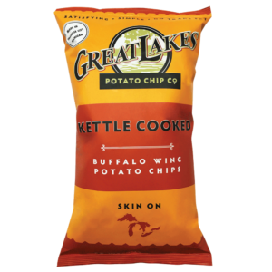 Great Lakes GMO-Free Potato Chips - Buffalo Wing (8 oz)