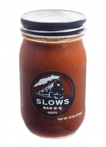 SLOWS Apple Bar B-Q Sauce