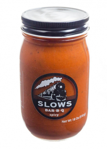 SLOWS Spicy Bar B-Q Sauce