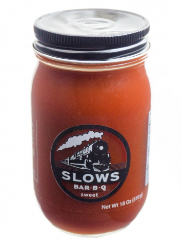 SLOWS Sweet Bar B-Q Sauce
