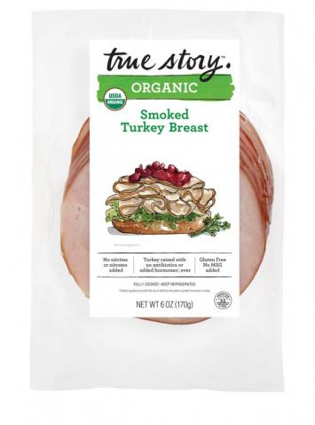 True Story - Organic Smoked Turkey Breast