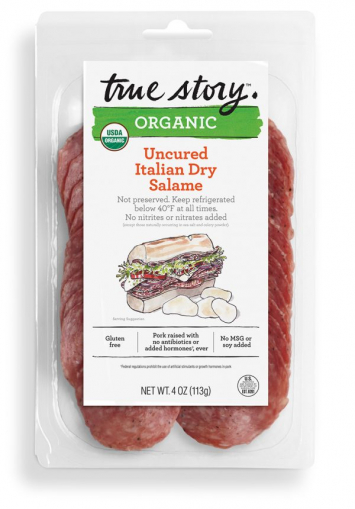 Organic Uncured Italian Dry Salame - True Story