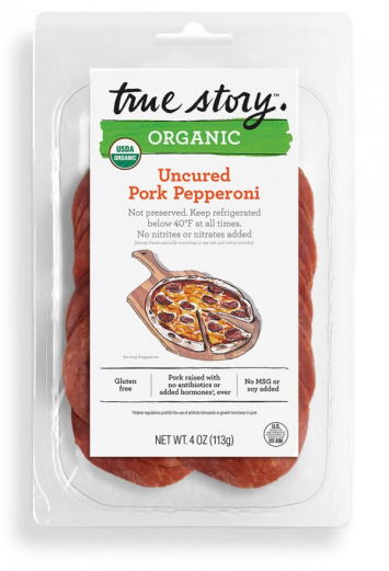 Organic Uncured Pork Pepperoni - True Story