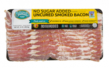 Pederson's - Smoked Bacon, Uncured, No Sugar Added, GMO-Free (Yellow Label)