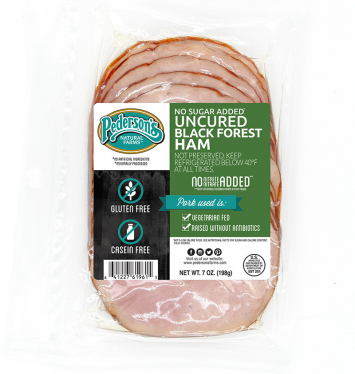 Pederson's - Deli Black Forest Ham, Organic Uncured, No Sugar Added, Fully-Cooked - Buy 2 for $5.99