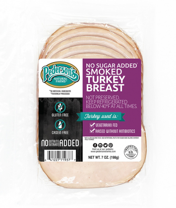 Pederson's - Deli Smoked Turkey Breast, Organic, No Sugar Added, Fully-Cooked -Buy 2 for $5.99