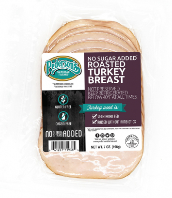 Pederson's - Deli Roasted Turkey Breast, Organic No Sugar Added, Fully-Cooked - Buy 2 for $5.99