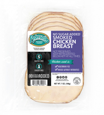 Pederson's - Deli Smoked Chicken Breast,  Organic, No Sugar Added, Fully-Cooked - Buy 2 for $5.99