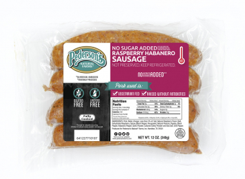 Pederson's - Sausage, Raspberry Habanero, No Sugar Added