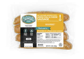 Pederson's - Sausage, Green Chili & Cheese, No Sugar Added BUY ONE GET ONE