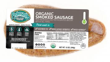 Pederson's - Smoked Sausage, Organic