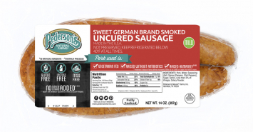 Pederson's - Sweet German Rope Sausage, Uncured
