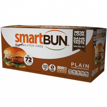 Smart Baking Company - Smart Bun - Plain, Non-GMO