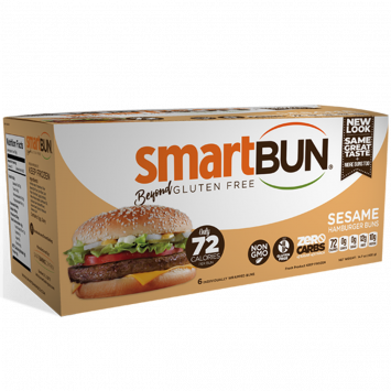 Smart Baking Company - Zero Carb Smart Bun, Sesame