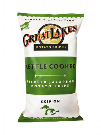 Great Lakes GMO-Free Potato Chips - Pickled Jalapeno (8 oz)