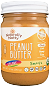Naturally Nutty - Organic Natural Peanut Butter, Smooth 8oz