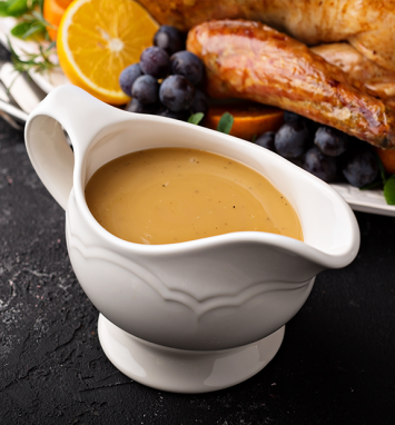 Simply Fresh Thanksgiving Gravy