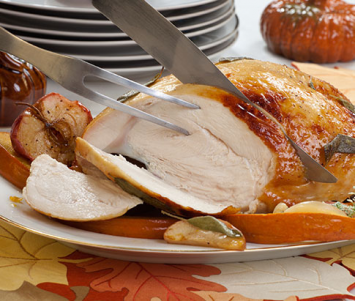 Free-Range, Non-GMO Bone-In Turkey Breast