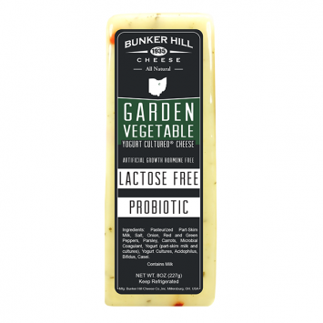 Bunker Hill - Garden Vegetable Lactose Free Cheese