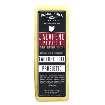 Bunker Hill - Jalapeno Pepper Lactose Free Yogurt Cheese