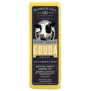 Bunker Hill - Raw Milk Gouda Cheese