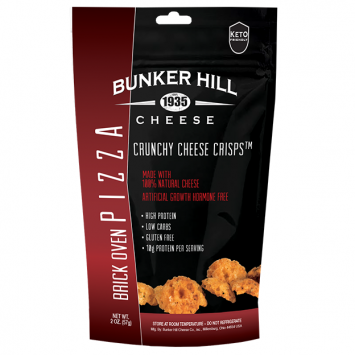 Bunker Hill - Brick Oven Pizza Crunchy Cheese Crisps
