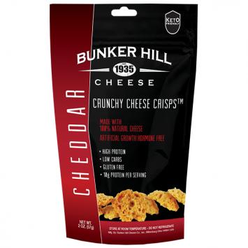 Bunker Hill - Cheddar Crunchy Cheese Crisps