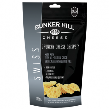 Bunker Hill - Swiss Crunchy Cheese Crisps